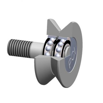roller shape: PCI Procal Inc. VTR-2.50 V-Groove Cam Followers