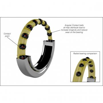 cage material: Kaydon Bearings KF180XP0 Four-Point Contact Bearings